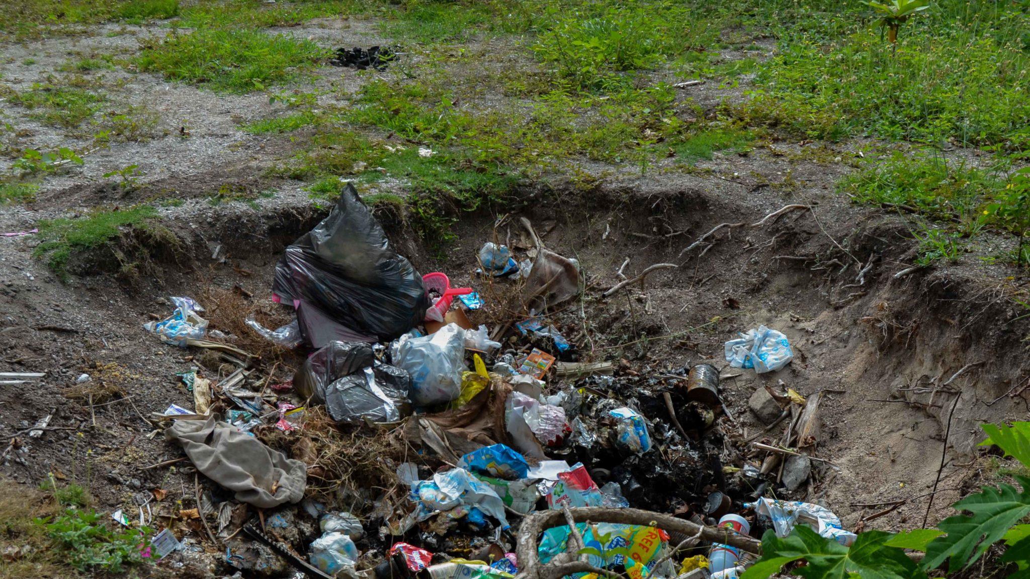 ilegal landfill